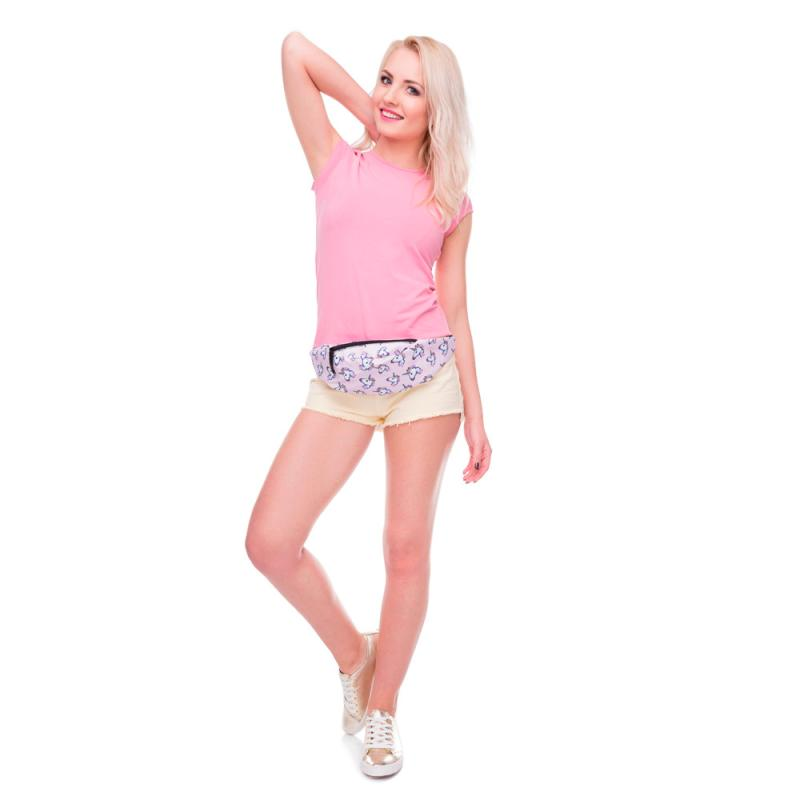 MOLAVE Waist Packs Fashion Sports Hiking Running Animal Prints Belt Waist Bag Pouch Zip Fanny Pack waist packs small AP16