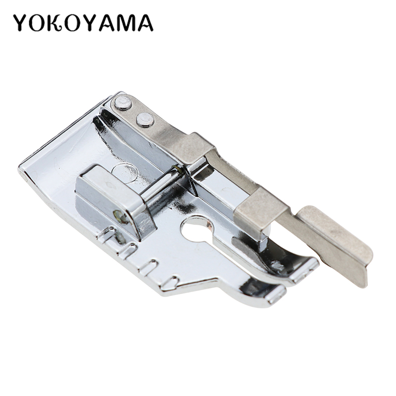 YOKOYAMA Sewing Parts 1/4 Inch Patchwork Quilting Presser Foot With Edge Guide For Brother Domestic Sewing Machine Accessories