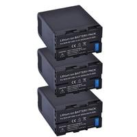 PowerTrust Новые 3 шт 5200 мАч BP U60 BP U60 BPU60 Батарея для sony PMW 100 PMW 150 PMW 160 PMW 200 PMW 300 PMW EX1 EX1R EX3 EX260