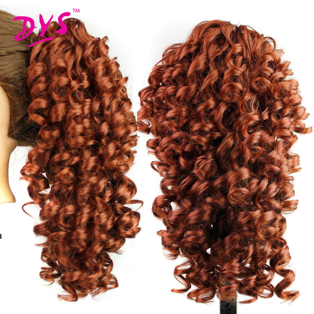 Deyngs 20inch Kinky Curly Claw i Ponytail Hair Extensions Fake Hair - Syntetiskt hår - Foto 4