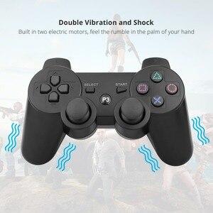 Image 2 - Gamepad אלחוטי Bluetooth בקר עבור PS3 ג ויסטיק משחק בקר מתג Gamepad עבור סוני פלייסטיישן 3 משחקי אבזרים