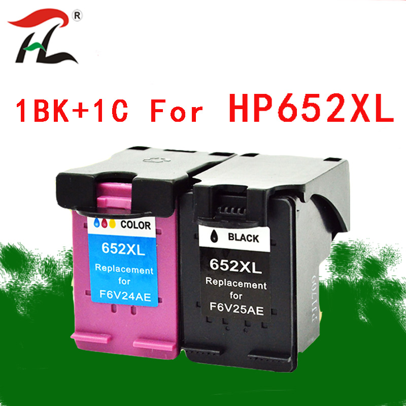 YLC 652XL Compatible <font><b>ink</b></font> <font><b>cartridges</b></font> For <font><b>HP</b></font> 652XL hp652 <font><b>652</b></font> For <font><b>HP</b></font> Deskjet 1115 1118 2135 2136 2138 3635 3636 4536 4535 printers image