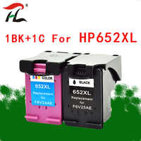 YLC 652XL Compatible ink cartridges For HP652XL hp652 For HP Deskjet 1115 1118 2135 2136 2138 3635 3636 4536 4535 printers