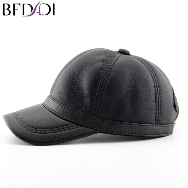 c6321651e5e BFDADI 2018 Baseball Caps Autumn - Winter Letter Black Men Baseball Hats  Brand New Hat Large Size 56 57 58 59 60cm Free Shipping