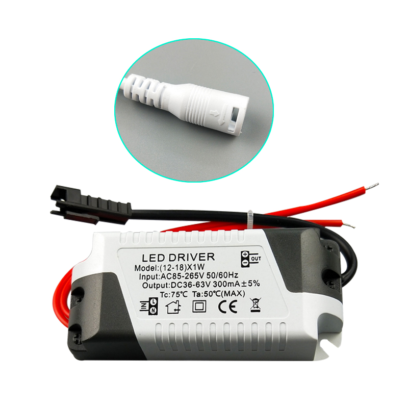3W-36W LED Driver 85-265V 300mA  Light Transformer Constant Current Power Supply Adapter For Led Lamps Strip Lighting