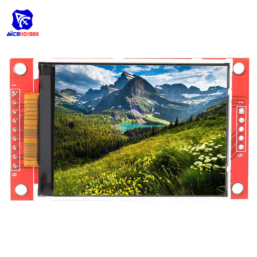 2.2 Inch TFT SPI LCD Display Module 240*320 ILI9341 With SD Card Slot For Arduino Raspberry Pi 51/AVR/STM32/ARM/PIC
