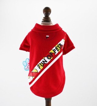New Boy Dog Cat Shirt Vest Pet Puppy T-shirt Spring/Summer Clothes Apperal 6 Colours 5 Sizes
