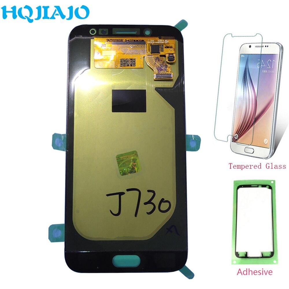 Écran LCD d'origine pour Samsung Galaxy J7 Pro 2017 J730 J730F J730FM LCD écran tactile numériseur assemblée remplacement