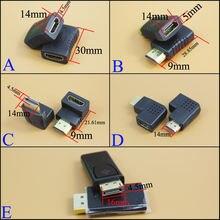 Yuxi мини микро адаптер позолоченный удлинитель конвертер коннекторы