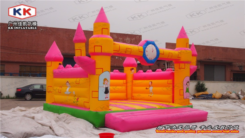 inflatable colorful bouncer for kids inflatable pink color trampoline jumping bouncer for rental castle bouncer house