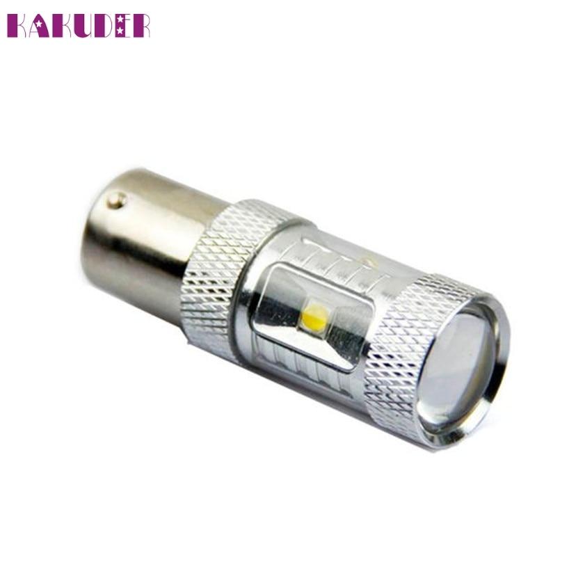 Высокое качество 30 Вт CREEChips белый ошибок 1156 BA15S P21W светодиодный фонарь заднег ...