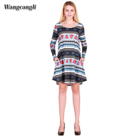 Wangcangli 2017 Autumn And Winter Europe And America Style Women S Wear Hot Style Elk Snow
