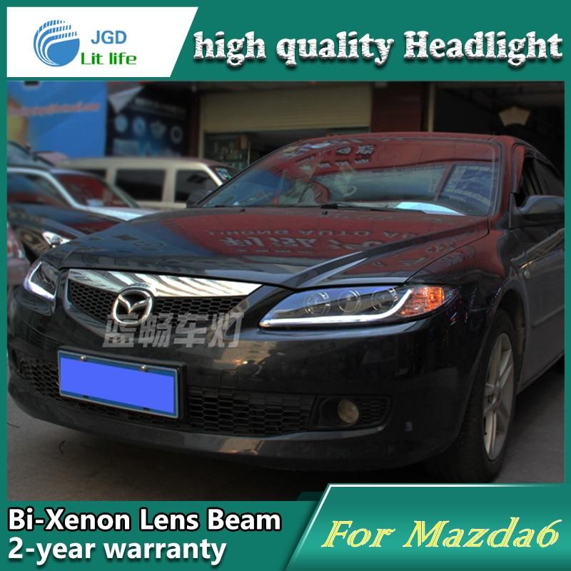 Mazda 6 M6 üçün yüksək keyfiyyətli avtomobil dizaynı 2003-2013 - Avtomobil işıqları - Fotoqrafiya 3