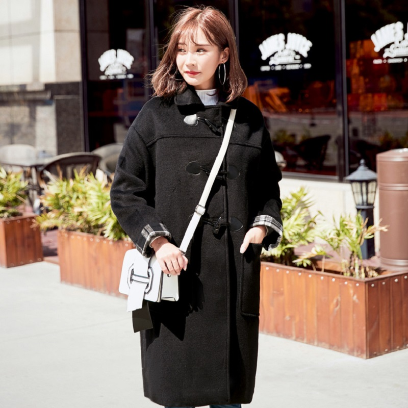 все цены на new autumn/winter women's coat maternity jacket high imitation wool clothing wool and blend outerwear turn down collar 5088