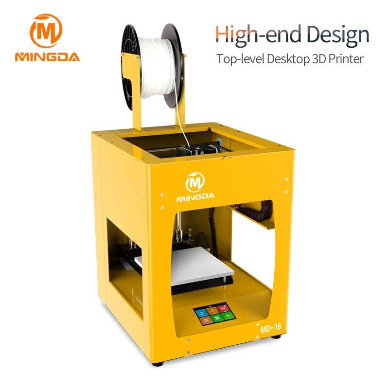MINGDA De Bureau 3D Imprimante Machine Avec Haute Précision 3D Machine D'impression Écran Tactile MINGDA FDM 3D Imprimante Machine