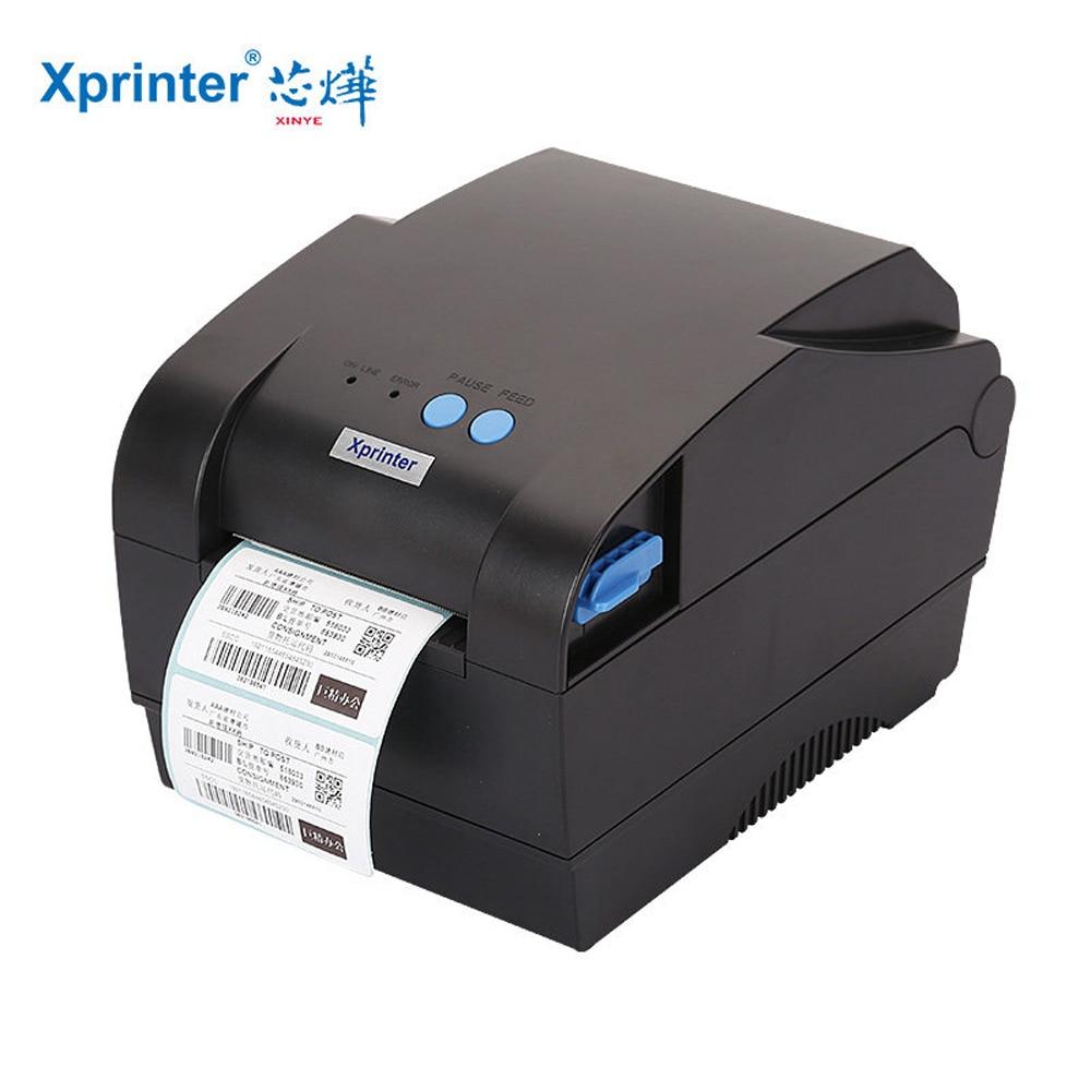 Xprinter étiquette imprimante de code à barres thermique imprimante de reçus 20mm à 80mm thermique bar imprimante de code