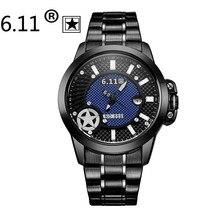 Часы Мужчин Роскошный Лучший Бренд 6.11 Новых Людей способа классический Дизайн Солнечных батареях часы Мужской Наручные Часы эркек кол saatleri