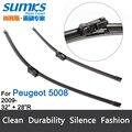 """Escovas para Peugeot 5008 (A Partir De 2009) 32 """"+ 28"""" fit botão tipo de limpador braços só HY-011"""