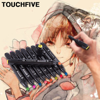 TOUCHFIVE30 40 60 80 168 Color Artist Painting Art Marker Animation Design Double Head Sketch Manga