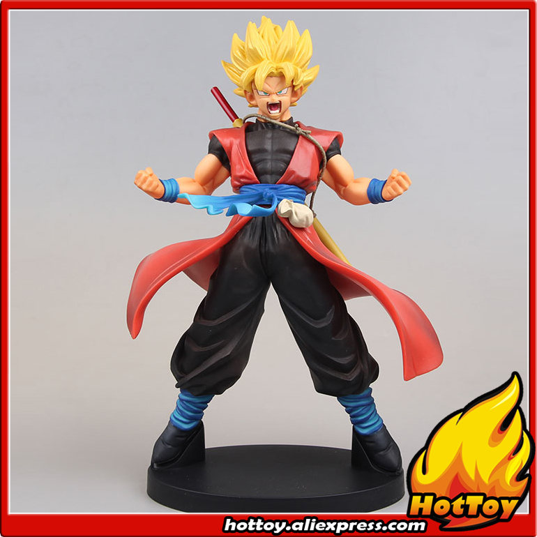 Original Banpresto DXF 7th Anniversary Vol.1 Collection Figure - Super Saiyan Son Gokou Xeno from Super Dragon Ball Heroes dragon ball dxf the super warriors vol 3 super saiyan rose gokou black and vegetto pvc figure collectible model toys kt4201