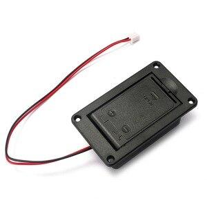 Image 2 - 1 Pin 9V Đựng Hộp Dành Cho Đàn Guitar Bass Hoạt Động Bán Cổng Kết Nối