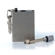 Kit de encendedor de fuego de pedernal, herramienta de supervivencia en forma de botella, portátil, para uso en exteriores, por miles de veces