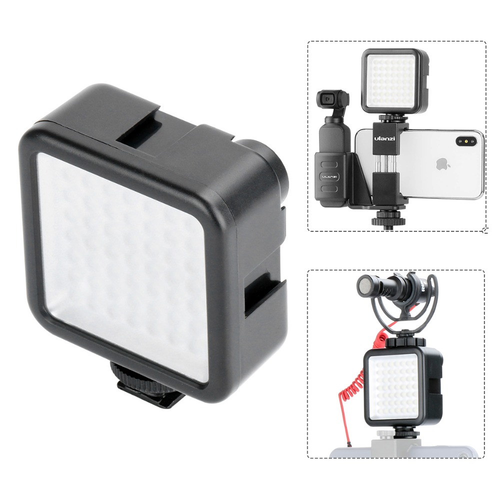 Pocket on Camera Mini LED Video Light Photography Fill Light 3 Hot Shoe Mount for DJI Osmo Pocket Nikon Sony A6400 DSLR Gimbals-in Photo Studio Accessories from Consumer Electronics on Aliexpress.com | Alibaba Group