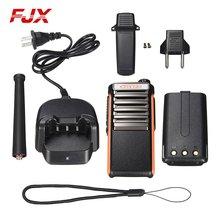 FJX FZ-66 7.4V 4800MAh 5Km Li-ion Battery Handheld Communicator Transceiver Professional Walkie Talkie Intercom Two Way Radio