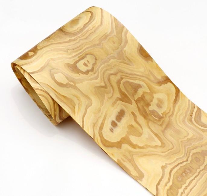 Length:2.5Meters  Width:25mm Stone Bark Wood Veneer