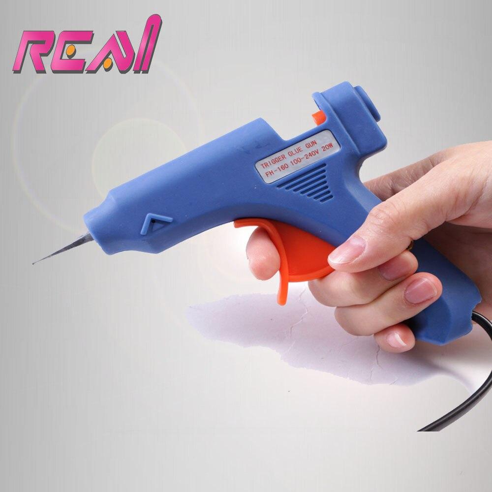 1 Pcs 15w Sample Little Mini Glue Gun For Hot Melt Keratin Hair