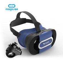 RITECH VR ПОЙТИ Складные VR Очки 3D Шлем Виртуальной Реальности Для 4.7-6.0 Смартфон + Magicsee R1 Контроллер Bluetooth