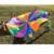 8 Maneja 2 m Los Niños Juegan Al Aire Libre Paracaídas Del Arco Iris Multicolor Nylon Niños Paracaídas De Juguete Adecuado Para 4-8 personas Diversión al aire libre Deportes