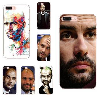 TPU Fashion Original For Galaxy J1 J2 J3 J330 J4 J5 J6 J7 J730 J8 2015 2016 2017 2018 mini Pro Soccer Coach Pep Guardiola image