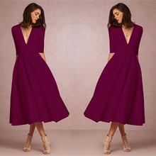 Весенне осеннее женское Новое винтажное платье большого размера