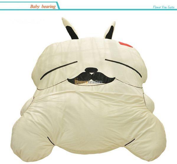 Fancytrader 270cm X 160cm Giant Soft Plush Stuffed Double Size Rabbit Bunny Mattress Carpet Tatami Bed, FT50680 (12)