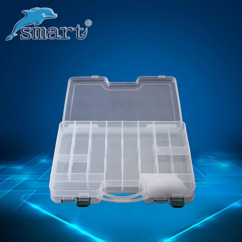 Hohe Qualität Doppelseitige Tragbare Kunststoff Angeln Box 29 * 19 * - Angeln - Foto 4
