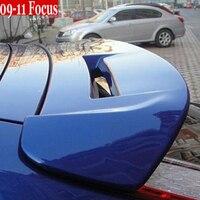 Грунтовка ST задний багажник спойлер Топ Крыло для Ford Focus 2 mk2 Хэтчбек 2009 2010 2011
