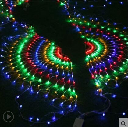 New Year Garland LED Jullampor Outdoor Party Cristmas Decoration - Festlig belysning - Foto 3