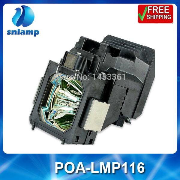 Alibaba aliexpress замена лампы проектора лампы с корпусом POA-LMP116 610-335-8093 для PLC-ET30L PLC-XT35 PLC-XT35L...