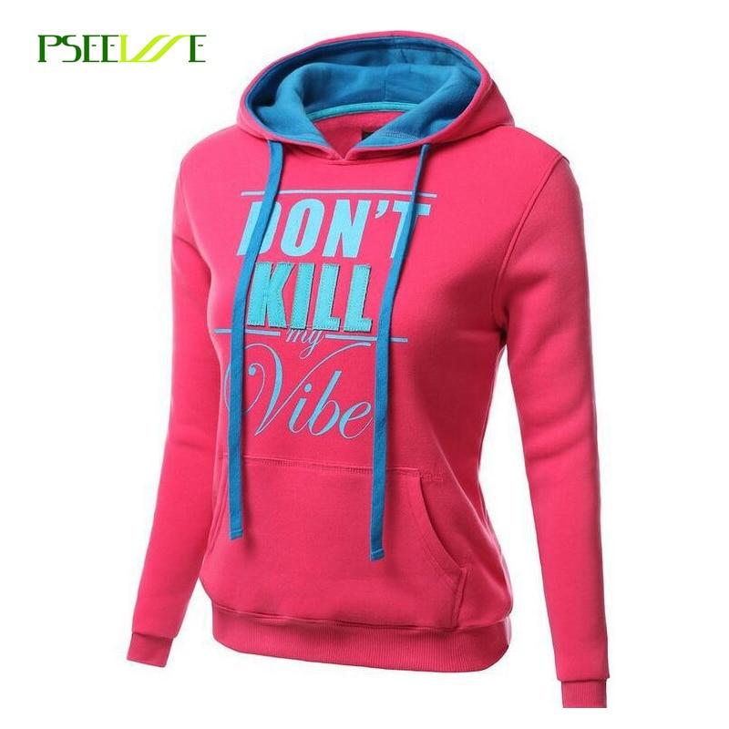 PSEEWE Herfst Casual Hoodie Dames Femme Sweatshirt Lange mouw Dames Hoodies Sweatshirts Hooded Vrouwelijke Jumper Trainingspakken