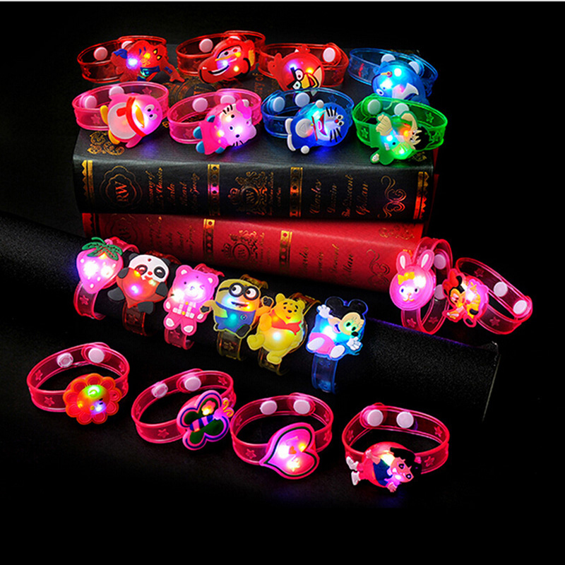New creative children's toys flash wrist band educational toys for kids Christmas Halloween gift practical jokes toys