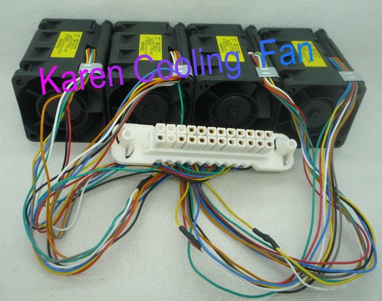 New Original Sunon 4CM PSD1204PPBX-A 4056 12V 12.2W 800-3375-01 B0 Cooling Fan free shipping new original taiwan sunon fan fan kde1204pfv2 4cm 40 40 10mm 4 4 1cm 4010 12v 1 2w support velocimetry