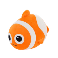 Small Ocean Soft Comfort Plush Toy Animals Killer Whale Shark Penguin Dolls Regalos Originales Kids Toys