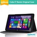 Новое прибытие Бесплатная доставка в исходном ПУ кожаный чехол протектор для CUBE ремикс I7 tablet PC, 11.6 дюймовый КУБ I7 чехол с ПОДАРКА
