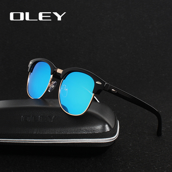 OLEY brands Unisex Classic Sunglasses men women polarized Retro Sun Glasses coating lens candy women goggles Oculos gafas Y3016 4