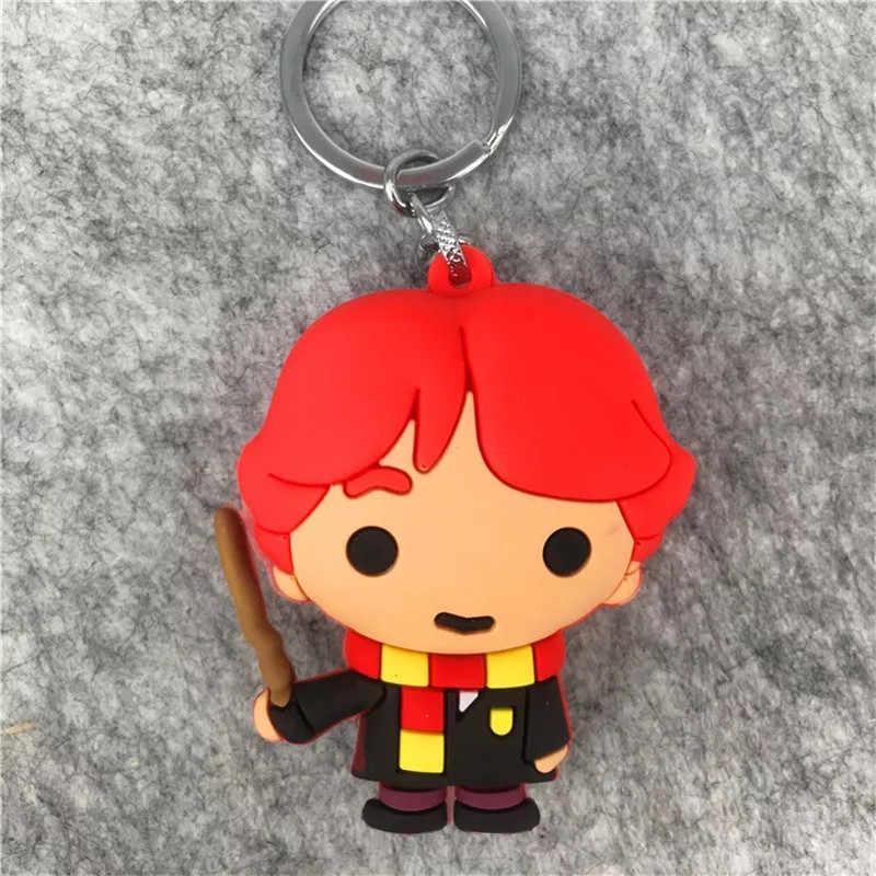 Hp Movie Young Potters брелок метла Летающая палочка Harried Quidditch сумка подарки детская вечеринка Добби Хедвиг Рон Гермиона Дамблдор