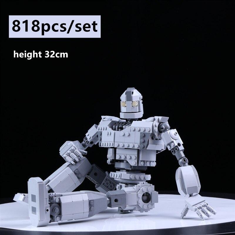 New MOC Robot C002 Technic City Figures Voltron Model Building Blocks Bricks Kids Toys Boy Gifts