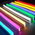 Гибкая светодиодная лента 12 В постоянного тока  неоновая лента SMD 2835  Мягкая Веревка  СВЕТОДИОДНАЯ лента SMD 2835  силиконовая резиновая трубка  ...