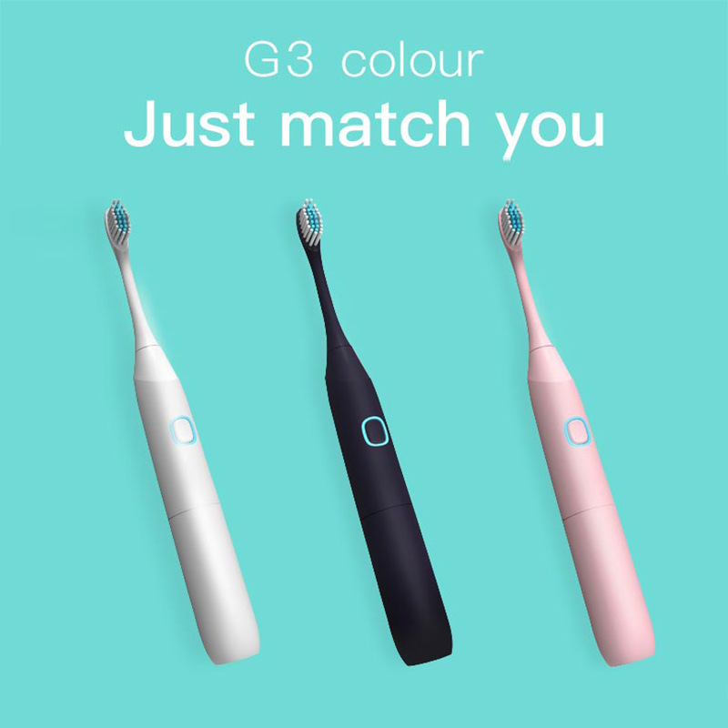 ABS Adult Electric Toothbrush Dry Battery Acoustic Button Type Ipx7 Waterproof Whole Body Washing Whitening Teeth in Electric Toothbrushes from Home Appliances