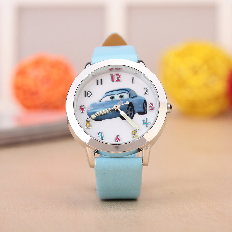 Fashion Lovely Children Watches Kids 30M Waterproof Leather Cartoon Watch Quartz Wristwatches for Boys Girls Clock Surprise Gift joyrox minions pattern children watch 2017 hot despicable me cartoon leather strap quartz wristwatch boys girls kids clock